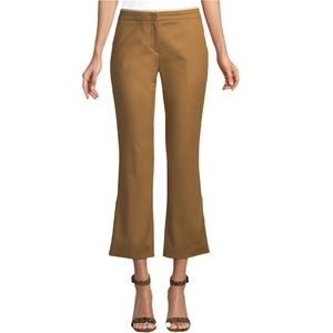 No. 21 Cropped Flared Cotton Pants size 42